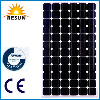Solar panel with solar battery for solar system