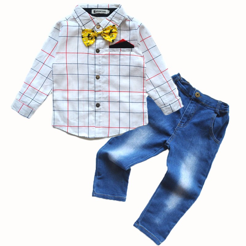 Factory baby boy clothes outfits Boys Outfits boys pant sets kids clothing company
