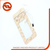 PVC Material Bag For Cell Phone , Waterproof Cell Phone Cases