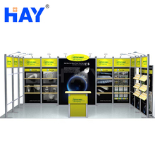 20'x10' Aluminium Profile Exhibition Booth Systems