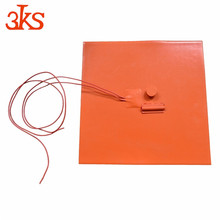 3D printer 12V-480V AC DC hot sale silicone rubber heat bed weight loss heating pad