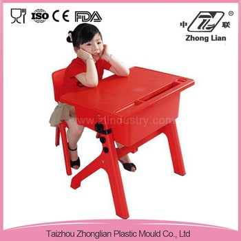 China market new design kids study table and chair