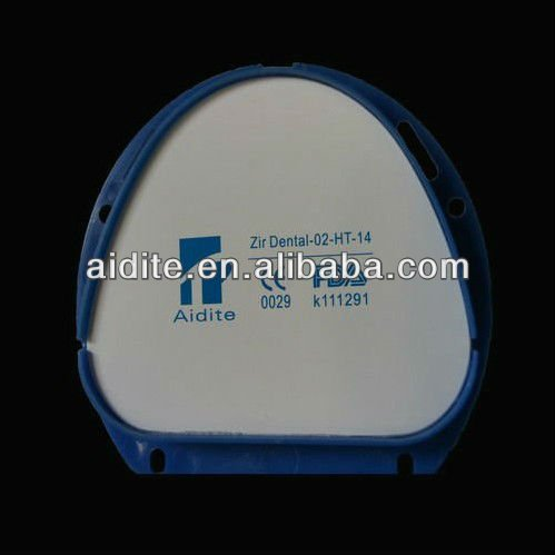 zirconia ceramics blocks for dental porcelain porcelain bridge