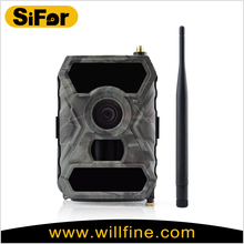 Large detective Areas waterproof battery operated APP remote control 3G mms trail camera