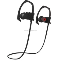 True wireless sports bluetooth stereo headset with mp3 player