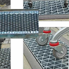 Hot Dip Galvanized Press Locked Grating