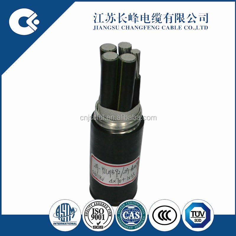 Low Voltage ACWU90 Aluminum Alloy Power Cable
