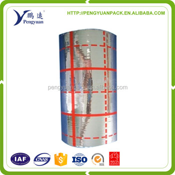 laminating film PET PE / Reflective Metalized PET film