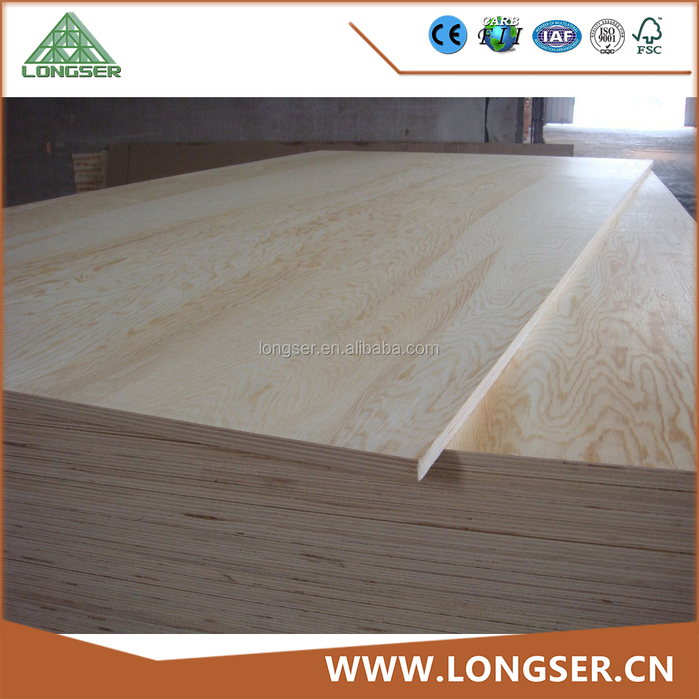 Pine plywood used for furniture laminate sheet timber