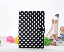 Cute Look Wave Points Leather Cover for Apple iPad Mini