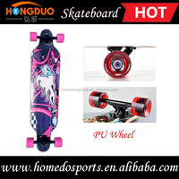 Professional wooden skateboard complete