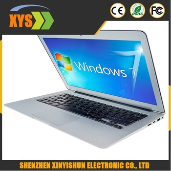 i7-5500u high quality 13.3 inch laptop ultrabook with win 7 or 8.1, 4GB RAM+64G HDD can be added SSD 64G/128G/256G SSD