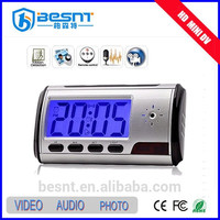 home security cctv camera Wireless Table Desk alarm clock Motion Detection Hidden Camera (BS-746)