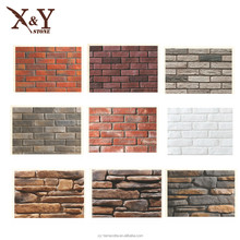 light weight exterior concrete old wall stone for villa, artificial stone wall