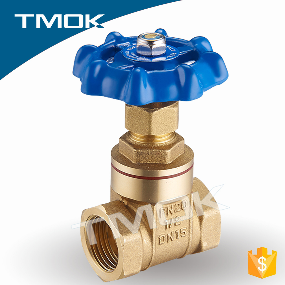 PN20 DN15-50 forging brass gate valves high quality high pressure manual power for pipe fitting
