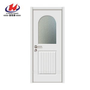 JHK-G12 Used Commercial Overhead Glass Office Entry Doors For Sale