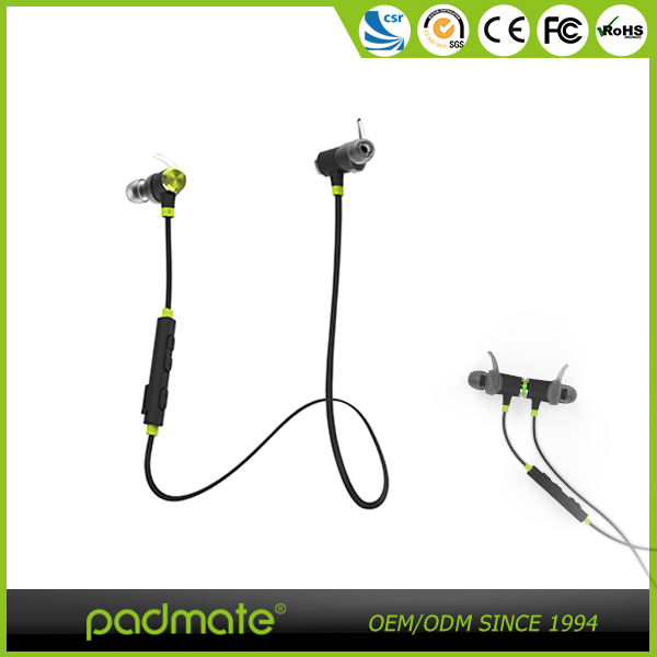 Top Selling Professional Sports/ Gym Necklace Mini Light Bluetooth Wireless Headsets In-ear Headphone Earphone For Laptop