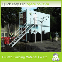 Sandwich Panel Environmental Friendly Fast Build High Quality Prefab Container House