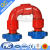 Pipe fittings 1502 swivel joint / active elbow / swivel joints with union connection