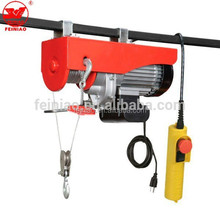 Feiniao Brand Construction Mini Electric Hoist Crane 500kg