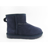 classic mini leather cow suede winter boots