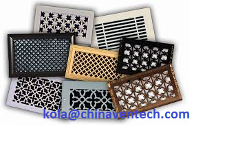 Leading manufacturer China floor grille register air vent