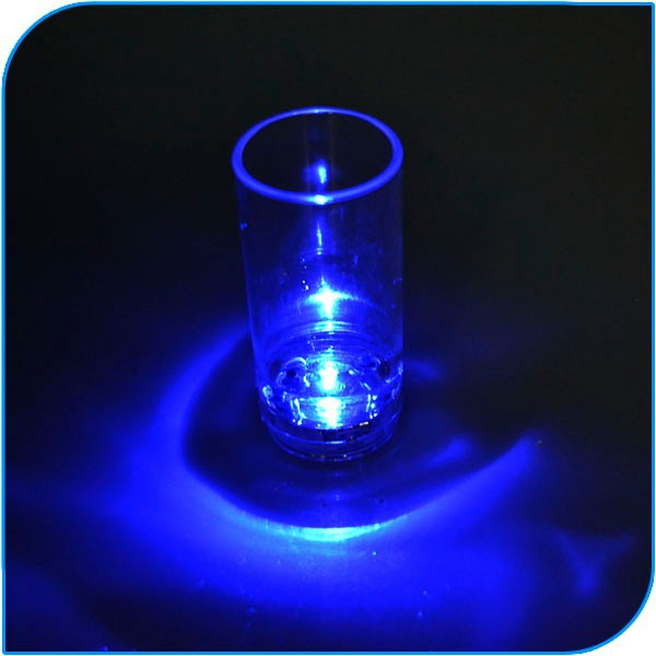Party Bar Club Good Factory Price LED Lighting Up Water Liquid Activated Led Flash Glass Cup