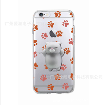 2017 Made In China Kawaii High Quality Slow Rising Squishy Scented Lazy Cat With Foot Print Phone Case Stress Ball