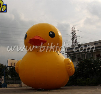 Air sealed giant buoy inflatable duck D3066