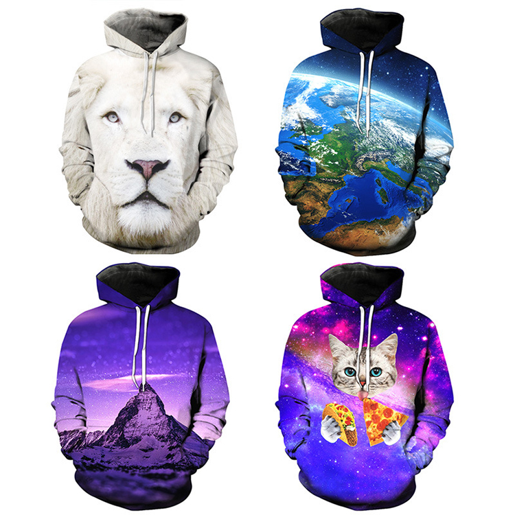 Custom Wholesale Sublimation Hoodies Men No Name Brand Hoodies Fashion Hoody