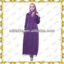 MF19348 wholesale purple muslim prom dresses