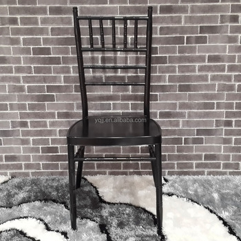 China wedding black chiavari tiffany chair