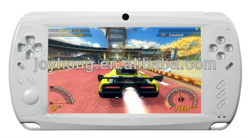 7 Inch Single Core Game Player (GP33003 Cortex A8 1.2GHZ ) DDR3 512M/4GB Flash with Android System