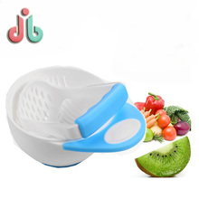 Custom Manual Food Fruit Grinding Cooking Bowl Set for Baby Feeding