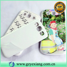 china phone case guangzhou 3d sublimation case for samsung s4