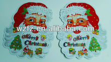 Merry ams santa clause felt stickers christmas