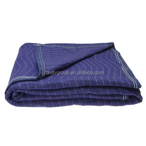 Nonwoven Furniture Protection Felt Quilted Soundproof Moving Blanket