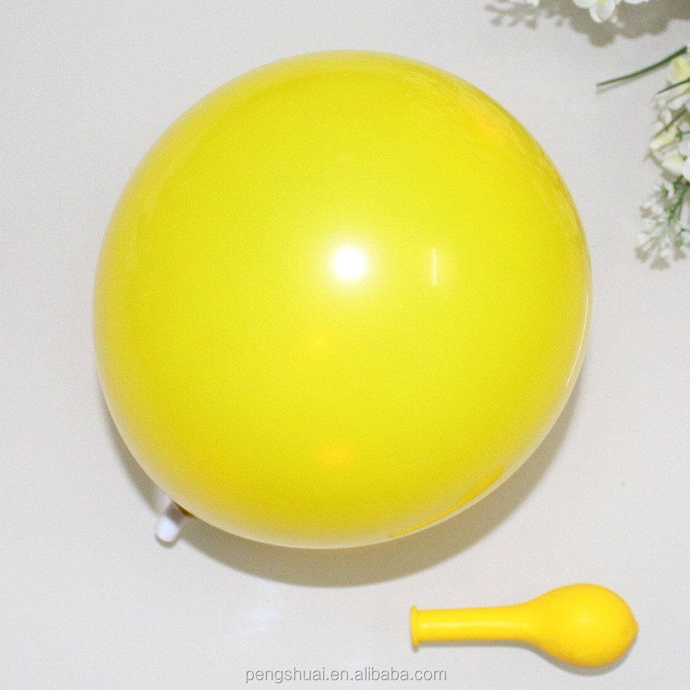 "6"" 1.3g latex helium balloon"