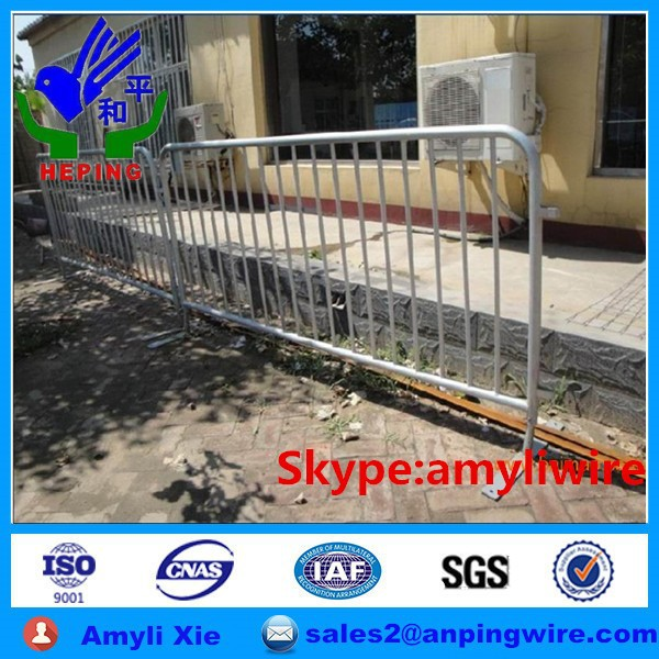 High quality temporary fence pipe clamp fencing
