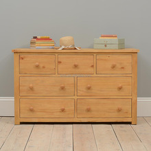 Scandinavian cheap wooden girls chest of drawers with 3+4 drawers