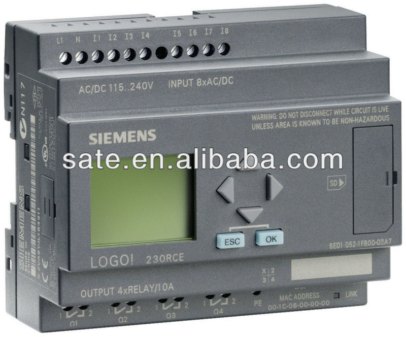SIEMENS LOGO SIMATIC PLC POWER SUPPLIER 6EP1331-1SH03
