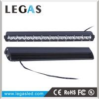 Global sales car accessories driving lights 100W single row led warning light bar,led light bar offroad,led emergency light bar