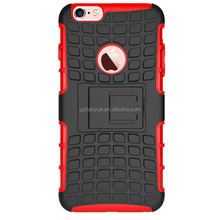 Mobile phone back cover new arrival smart hybrid rugged heavy duty armor kickstand case for iphone 6 6plus 4 4s 5 5s 5c