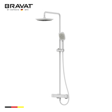 Brass shower bathroom hot cold water mixer tap F999153WM-A