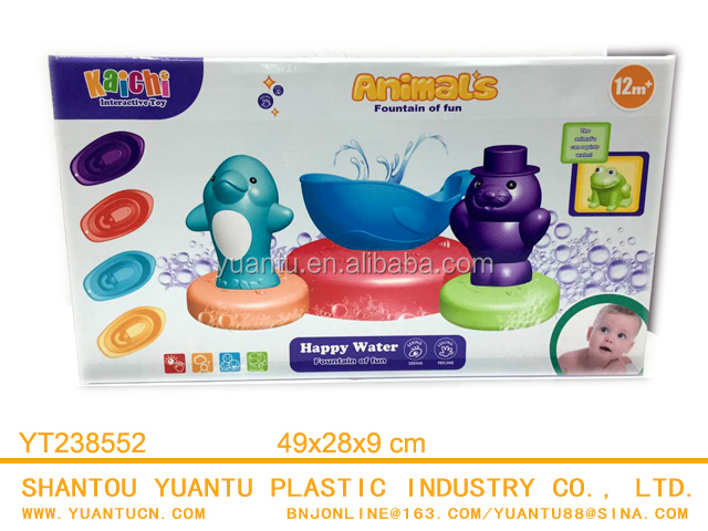 Super 2 IN 1 Interactive BO Happy Water Game And Linking Boat Baby Toys Series