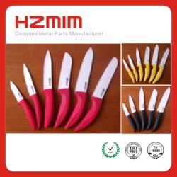 Eco-Friendly Feature ceramic fruit/bread knife, the kitchen knives