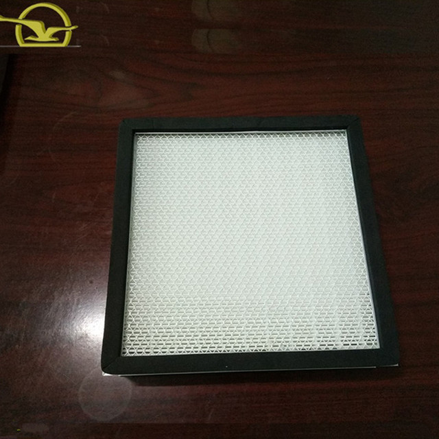 China supply Plate frame Paper air pollution filter hepa