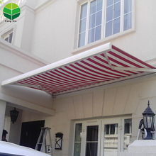 Fengxin Outdoor automatic aluminum folding arm awning high garden retractable awning