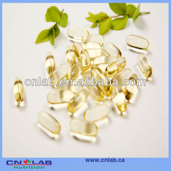 Custom Manufacture Flaxseed oil softgel capsule