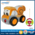 China wholesale detachable engineering soft plush 2CH rc car for children